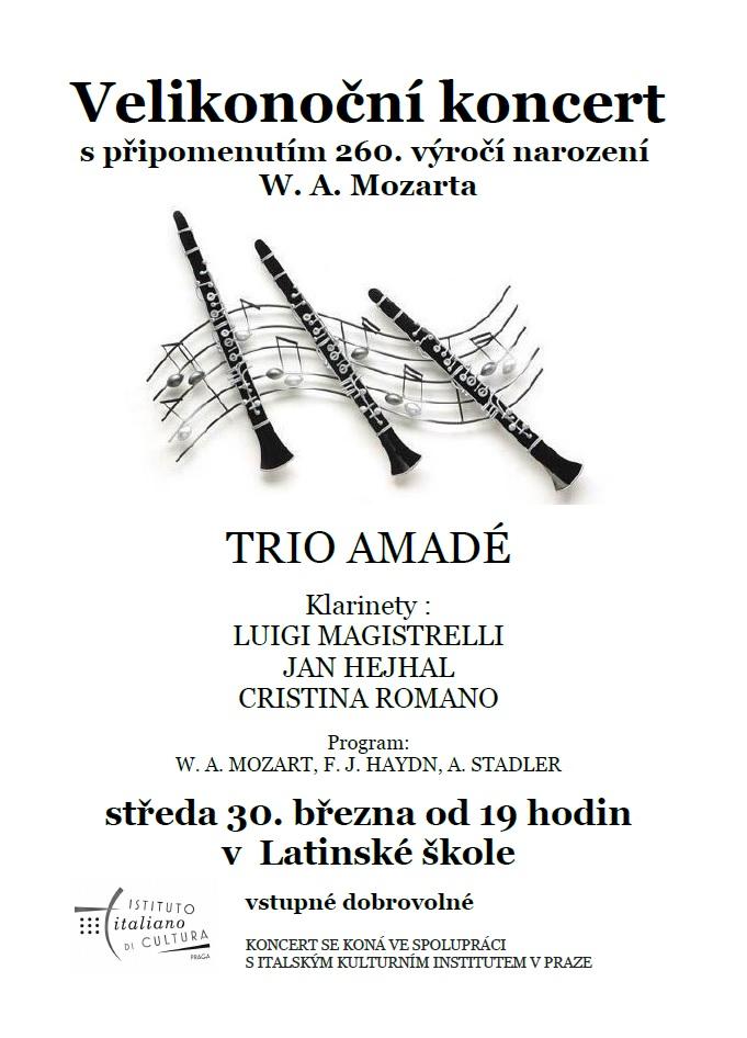 6e2da15dba4 Velikonoční koncert s připomenutím 260. výročí narození W. A. Mozarta