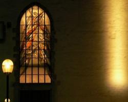 Portál baziliky Navštívení Panny Marie