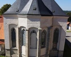 Bazilika Navštívení Panny Marie zezadu