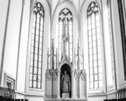 Oltář v kostele sv. Jiljí